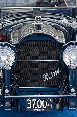 Photograph - 1917 Packard Twin Six 2-35 All-weather Landaulet Grille by Jill Reger