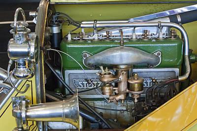 Photograph - 1919 Stutz Bearcat Special Engine by Jill Reger