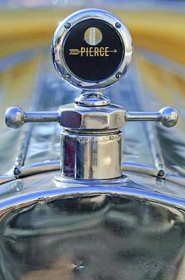 Photograph - 1920 Pierce-arrow Model 48 Coupe Hood Ornament by Jill Reger
