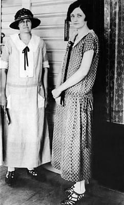 1920s Dresses. Miriam A. Ferguson Art Print
