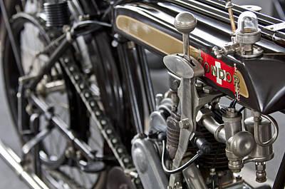 Condor Photograph - 1923 Condor Motorcycle by Jill Reger
