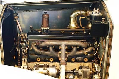 Photograph - 1923 Rolls-royce 20hp Engine by Jill Reger
