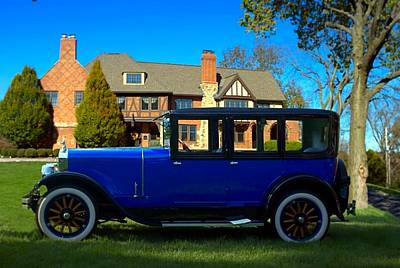 Photograph - 1926 Franklin Sedan by Tim McCullough