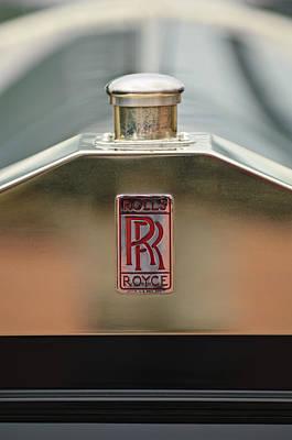 Photograph - 1926 Rolls-royce Silver Ghost Pall Mall Tourer Hood Ornament by Jill Reger