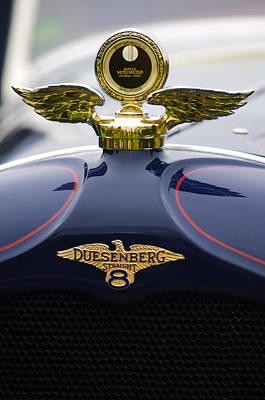 Photograph - 1927 Duesenberg X Mcfarlan Roadster Hood Ornament by Jill Reger
