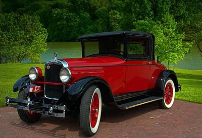 Photograph - 1927 Hupmobile Coupe by Tim McCullough