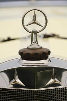 Photograph - 1927 Mercedes-benz S Hood Ornament 2 by Jill Reger