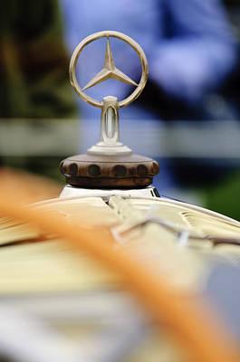 Photograph - 1927 Mercedes-benz S Hood Ornament by Jill Reger