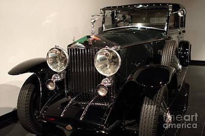 1927 Rolls Royce Phantom 1 Towncar - 7d17195 Art Print by Wingsdomain Art and Photography