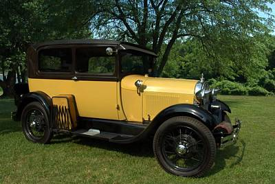 Photograph - 1928-29 Ford Model A Sedan by Tim McCullough