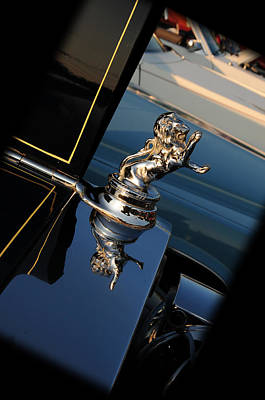 Hoodies Photograph - 1928 Franklin Sedan Hood Ornament by Paul Ward