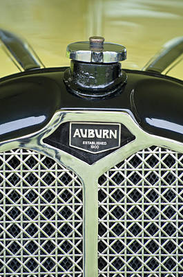 Photograph - 1929 Auburn Carbiolet Convertible Hood Ornament by Jill Reger