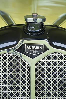 Photograph - 1929 Auburn Carbiolet Convertible Hood Ornament by Jill Reger