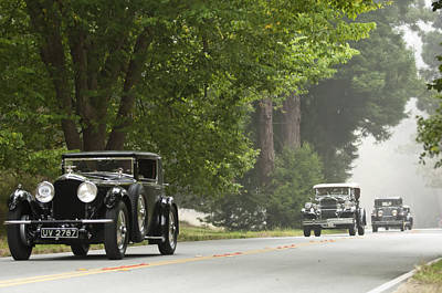 Photograph - 1929 Bentley Speed Six Gurney Nutting Fixed Head Coupe by Jill Reger