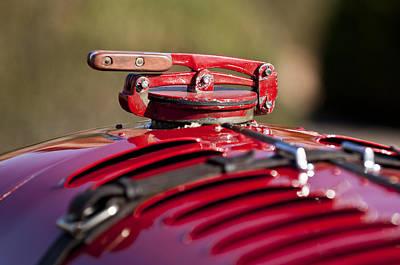 Photograph - 1929 Birkin Blower Bentley Hood Ornament by Jill Reger