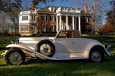 Photograph - 1929 Duesenberg J  Weymann St. Cloud Sport Sedan by Tim McCullough
