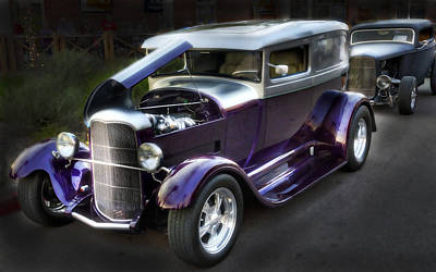 Photograph - 1929 Ford Coupe  by Saija  Lehtonen