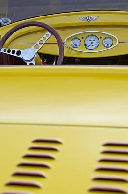 Photograph - 1929 Ford Model A Roadster by Jill Reger