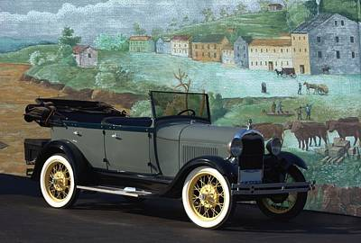 Photograph - 1929 Ford Model A Touring Car by Tim McCullough