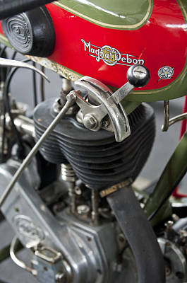 Photograph - 1929 Magnat-debon Bst Motorcycle by Jill Reger
