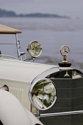 Photograph - 1929 Mercedes-benz S Tourer Hood Ornament by Jill Reger