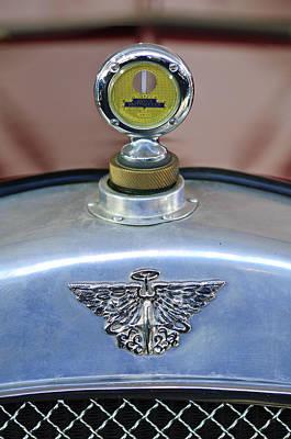Photograph - 1930 Austin Seven Ulster Hood Ornament by Jill Reger