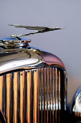 Photograph - 1930 Duesenberg Model J Torpedo Phaeton Hood Ornament by Jill Reger