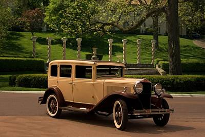 Photograph - 1930 Hupmobile Model C Sedan by Tim McCullough