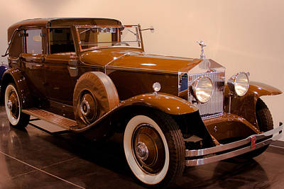 Rolls Royce Photograph - 1930 Rolls-royce Phantom 1 Trouville Town Car by David Patterson