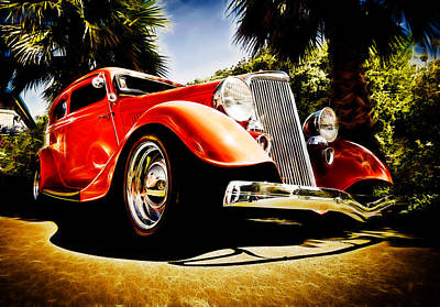 1930s Ford Tudor Art Print by Phil 'motography' Clark