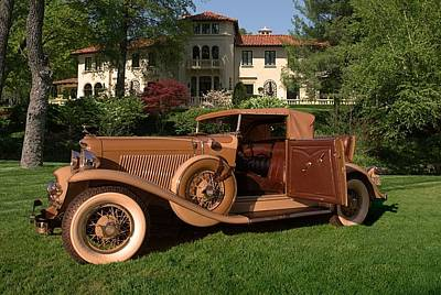 Photograph - 1931 Auburn Cabriolet by TeeMack