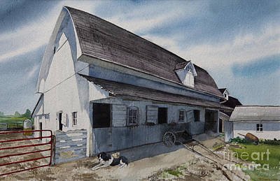 1931 Barn Original by Kelly Morrow