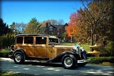 Photograph - 1931 Chrysler Master Sedan by Tim McCullough