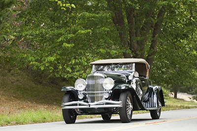 Photograph - 1931 Duesenberg J Packard Roadster  by Jill Reger