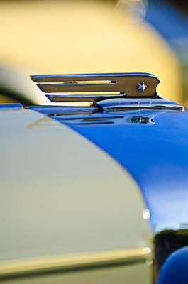 Photograph - 1931 Marmon Sixteen Convertible Coupe Hood Ornament by Jill Reger