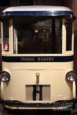 1931 Twin Coach Helms Bakery Delivery Truck . 7d17462 Art Print