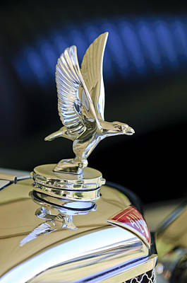 Photograph - 1932 Alvis 6 Speed 20 Sa 4-door Tourer Hood Ornament by Jill Reger