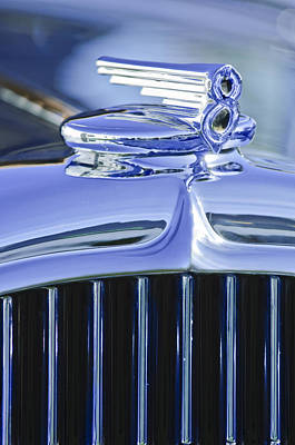 Photograph - 1932 Buick Series 60 Phaeton Hood Ornament by Jill Reger