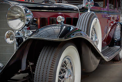 Photograph - 1932 Cadillac V12 by James Woody