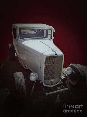 Mixed Media - 1932 Coupe by Jerry L Barrett