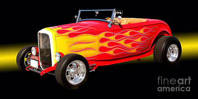 Photograph - 1932 Ford Hotrod by Jim Carrell