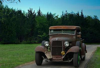 Photograph - 1932 Ford Pickup Truck Jalopy by Tim McCullough