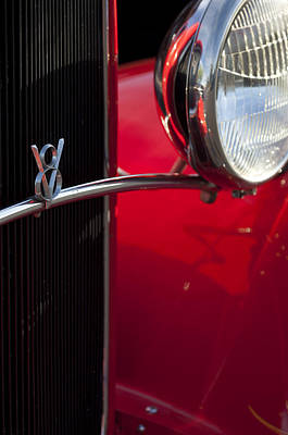 Photograph - 1932 Ford Roadster Grille by Jill Reger
