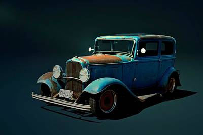 Photograph - 1932 Ford Sedan  by Tim McCullough