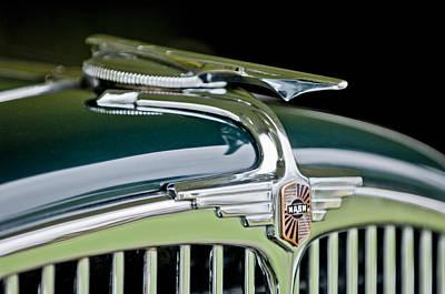 Photograph - 1932 Nash Series 980 Convertible Hood Ornament by Jill Reger