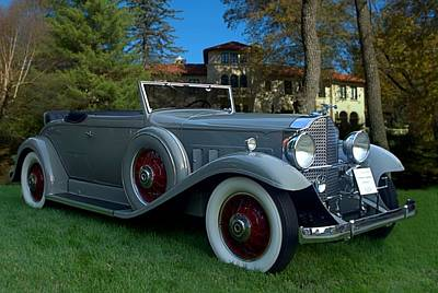 Photograph - 1932 Packard 902 Convertible by Tim McCullough