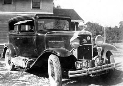 Photograph - 1933 Car by Bonfire Photography