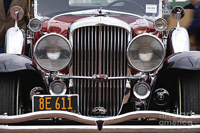1933 Duesenberg Model J - D008167 Art Print