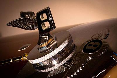 Bentley Photograph - 1934 Bentley 3.5 Liter Tourer by David Patterson