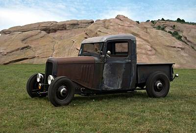 Photograph - 1934 Chevrolet Pickup by Tim McCullough